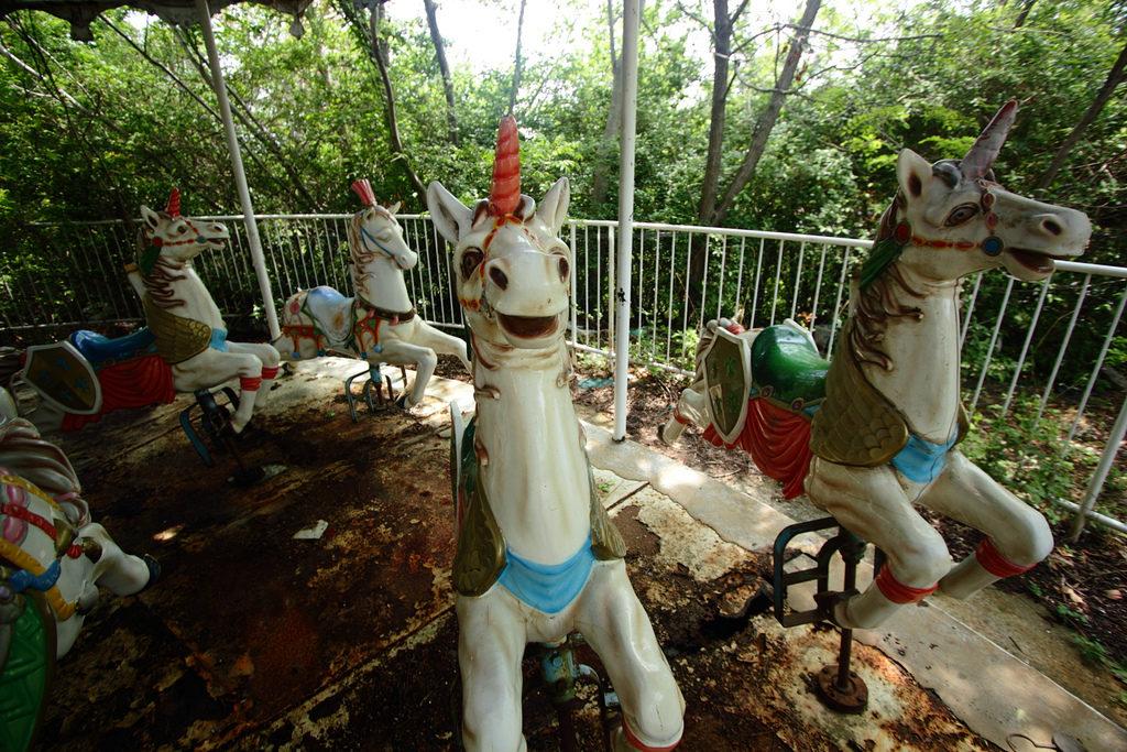 Okpo Land - Abandoned Theme Park In South Korea
