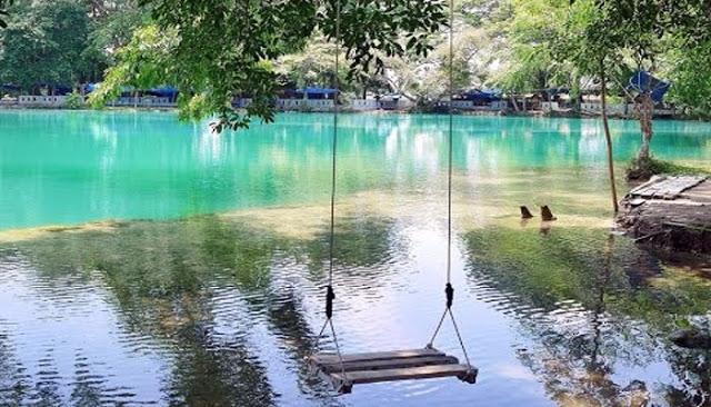 Mysterious And Beautifull Lake In North Sumatera