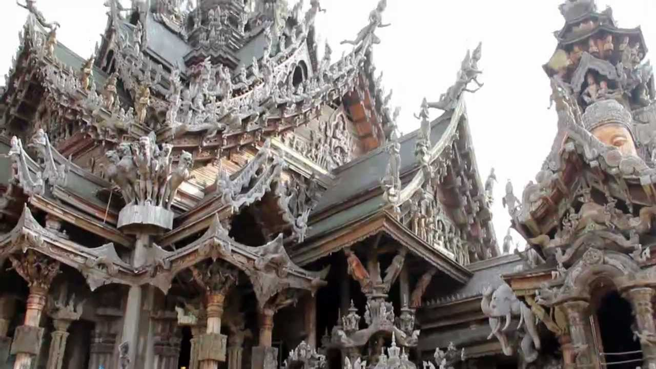 Sanctuary of Truth, Beautifull Temple In Thailand