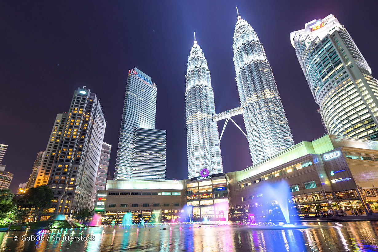 Petronas Tower, The Highest Tower In Malaysia