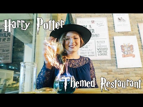 Harry Potter Highlights - Hogwartz Themed Restaurant in Singapore