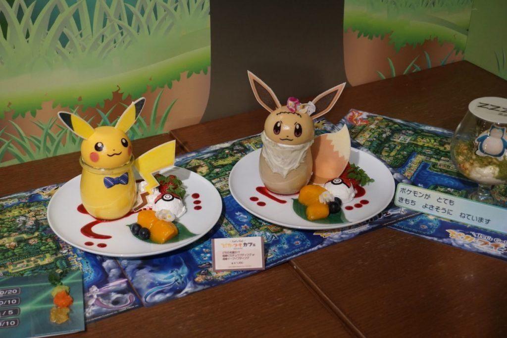 Lets Go Pikachu Cafe- Japan